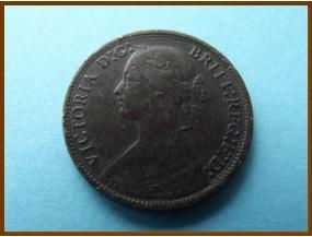 Великобритания фартинг 1866 г.