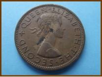 Новая Зеландия 1 пенни 1960 г.