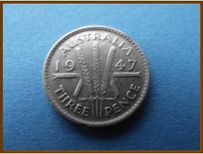 Австралия 3 пенса 1947 г.
