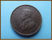 Австралия 1/2 пенни 1914 г.