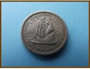 Британские Карибские территории 10 центов 1956 г.