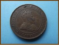 Канада 1 цент 1909 г.