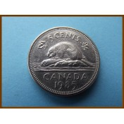 Канада 5 центов 1985  г.