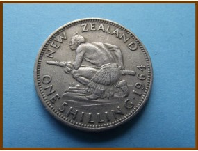 Новая Зеландия 1 шиллинг 1964 г.