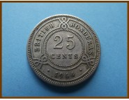 Британский Гондурас 25 центов 1964 г.