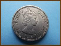 Британский Гондурас 25 центов 1972 г.