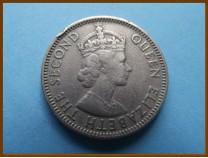 Британский Гондурас 25 центов 1968 г.