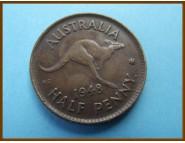Австралия 1/2 пенни 1948 г.