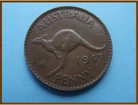 Австралия 1 пенни 1947 г.