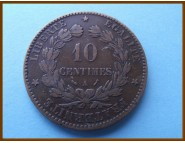 Франция 10 сантимов 1895 г. А