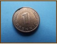 Германия 1 пфенниг 1984 г.