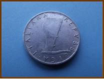 Италия 5 лир 1954 г.