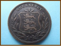 Гернси 8 дублей 1902 г.