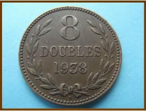 Гернси 8 дублей 1938 г.