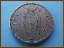 Ирландия 1/2 кроны  1955 г.