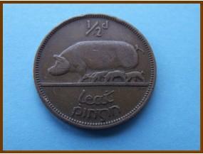 Ирландия 1/2 пенни  1943 г.