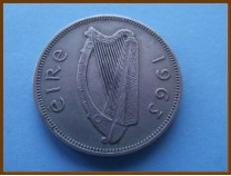 Ирландия флорин 1963 г.