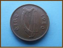 Ирландия 2 пенса 1980 г.