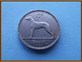 Ирландия 6 пенсов 1935 г.
