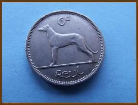 Ирландия 6 пенсов 1948 г.