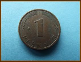 Германия 1 пфенниг 1971 г.
