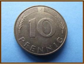 Германия 10 пфеннигов 1990 г.