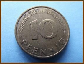 Германия 10 пфеннигов 1992 г.