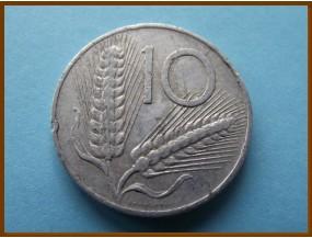 Италия 10 чентзимо 1955 г.