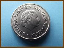 Нидерланды 25 центов 1963 г.