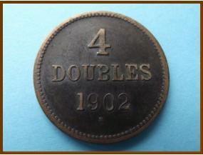 Гернси 4 дубля 1902 г.