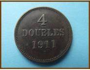 Гернси 4 дубля 1911 г.