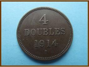 Гернси 4 дубля 1914 г.