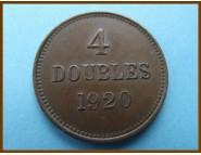 Гернси 4 дубля 1920 г.