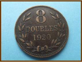 Гернси 8 дублей 1920 г.