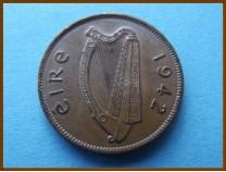 Ирландия 1/2 пенни  1942 г.