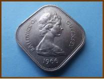 Гернси 10 шиллингов 1966 г.