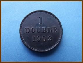 Гернси 1 дубль 1902 г.
