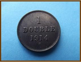 Гернси 1 дубль 1914 г.