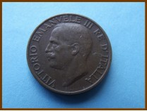 Италия 10 чентезимо 1924 г.