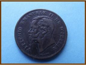 Италия 5 чентезимо 1861 г.