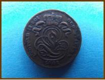 Бельгия 1 сантим 1902 г.