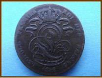 Бельгия 5 сантим 1842 г.