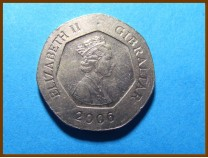 Гибралтар 20 пенсов 2006 г.