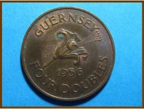 Гернси 4 дубля 1956 г.