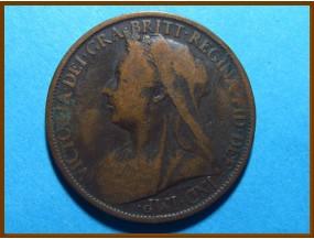 Великобритания 1 пенни 1899 г.