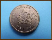 Индия Гвалиор 1/4 анны 1929 г.