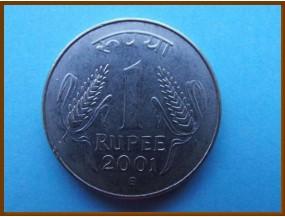 Индия 1 рупия 2001 г.