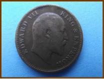 Индия 1/4 анны 1906 г.