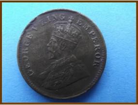 Индия 1/4 анны 1919 г.
