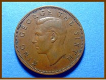 Новая Зеландия 1/2 пенни 1951 г.